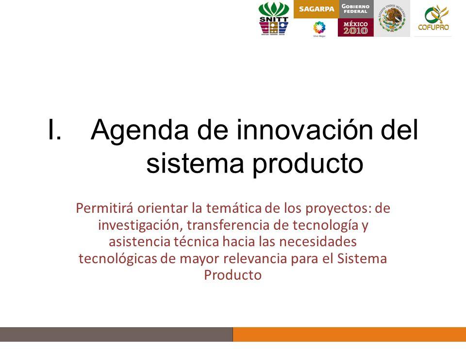 Agenda de Innovación