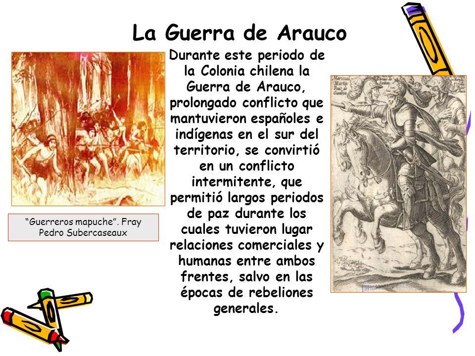 Relación entre españoles y mapuches mapuches sus tierrasA medida que pasaba el tiempo la relación entre estos fue mejorando, ya que los europeos se dieron cuenta que los mapuches no iban a entregar sus tierras, esta resistencia forma parte de la identidad de este pueblo.