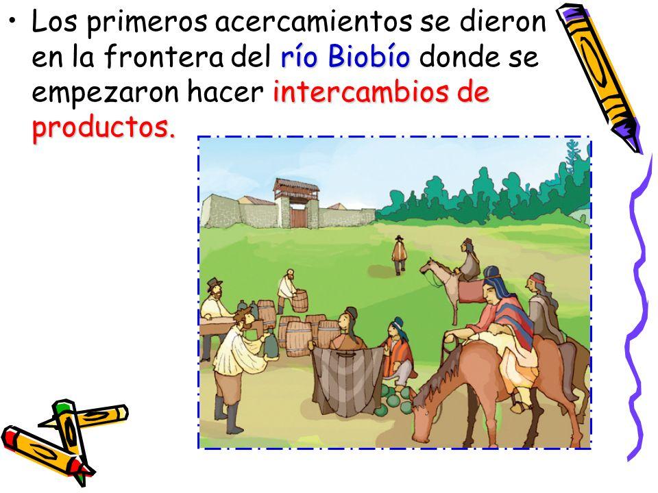La Guerra de Arauco Durante este periodo de la Colonia chilena la Guerra de Arauco, prolongado conflicto que mantuvieron españoles e indígenas en el sur del territorio, se convirtió en un conflicto intermitente, que permitió largos periodos de paz durante los cuales tuvieron lugar relaciones comerciales y humanas entre ambos frentes, salvo en las épocas de rebeliones generales.