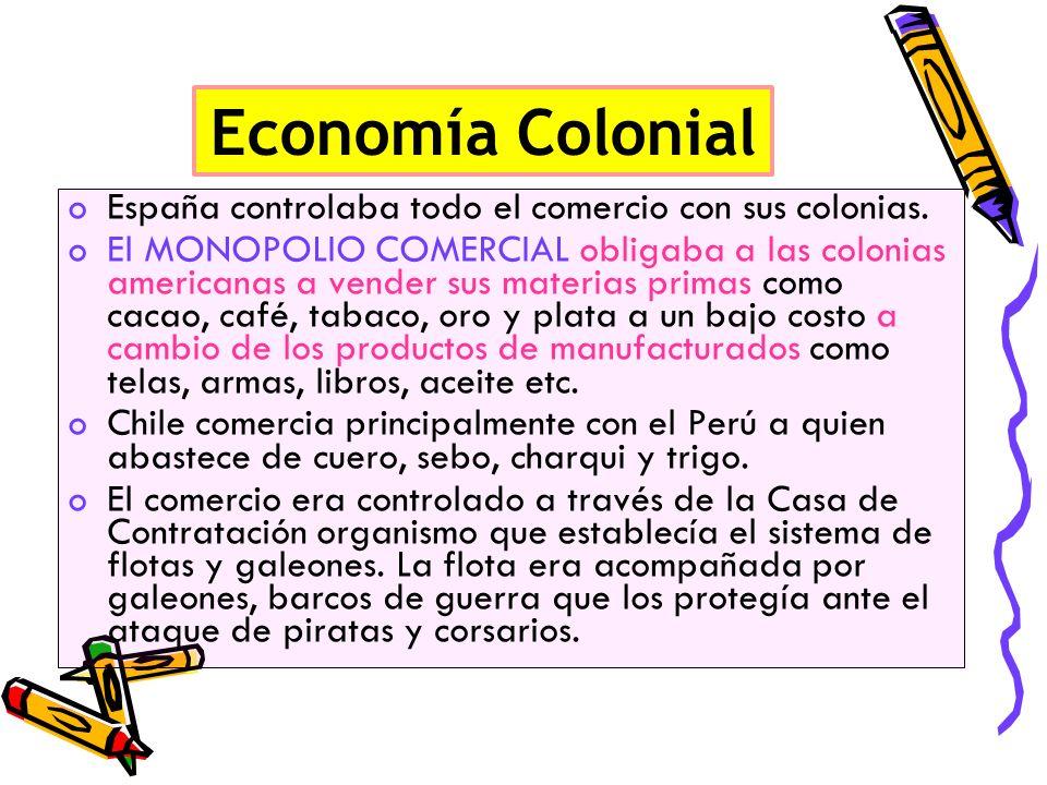 La economía colonial chilena ganadería agriculturaComo el oro en Chile no era mucho la economía se reorientó a la ganadería y a la agricultura.