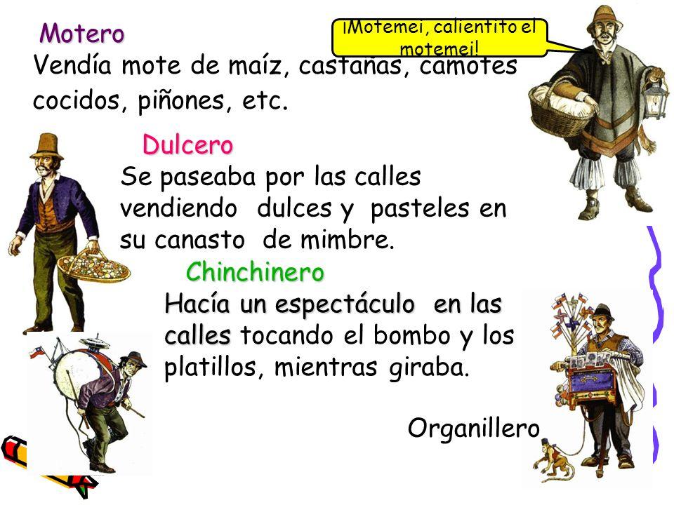 Aguatero agua Aguatero Se desplazaba a caballo llevando agua en un barril, la que vendía entre los vecinos.