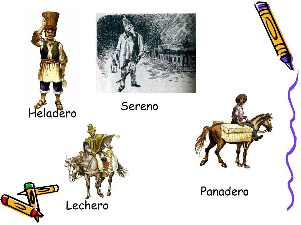 Motero Motero Vendía mote de maíz, castañas, camotes cocidos, piñones, etc.