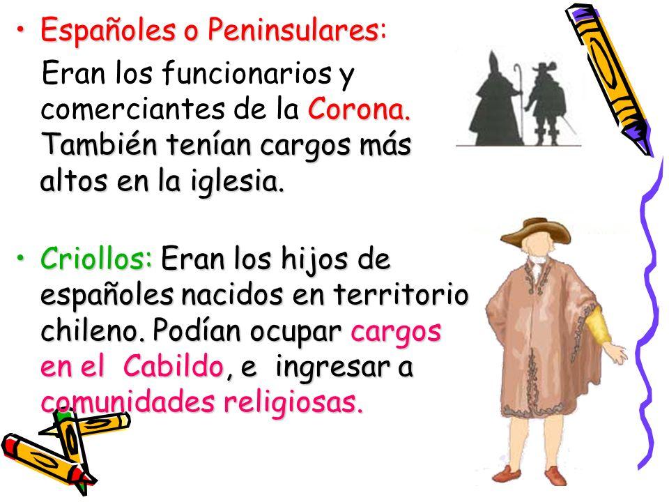 castas movilidad social.La sociedad chilena en la colonia era de castas, por lo que no existía movilidad social.