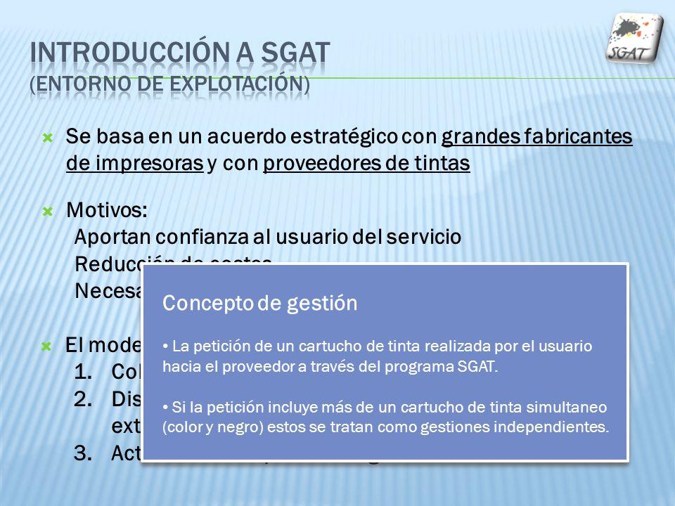 Se basa en un acuerdo estratégico con grandes fabricantes de impresoras y con proveedores de tintas Motivos: Aportan confianza al usuario del servicio