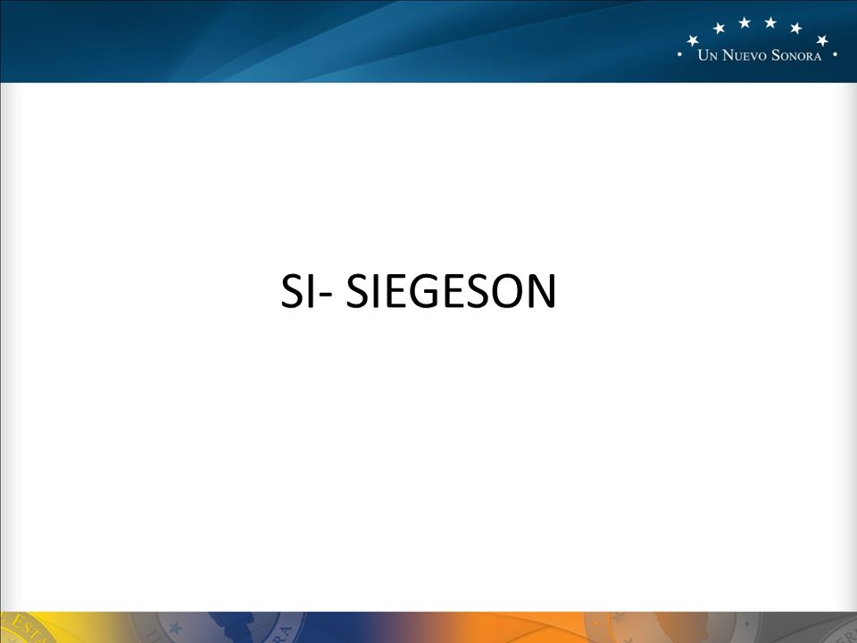 SI- SIEGESON