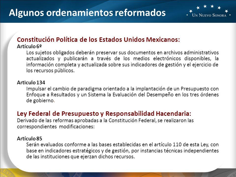 Constitución Política de los Estados Unidos Mexicanos: Artículo 6º Los sujetos obligados deberán preservar sus documentos en archivos administrativos actualizados y publicarán a través de los medios electrónicos disponibles, la información completa y actualizada sobre sus indicadores de gestión y el ejercicio de los recursos públicos.