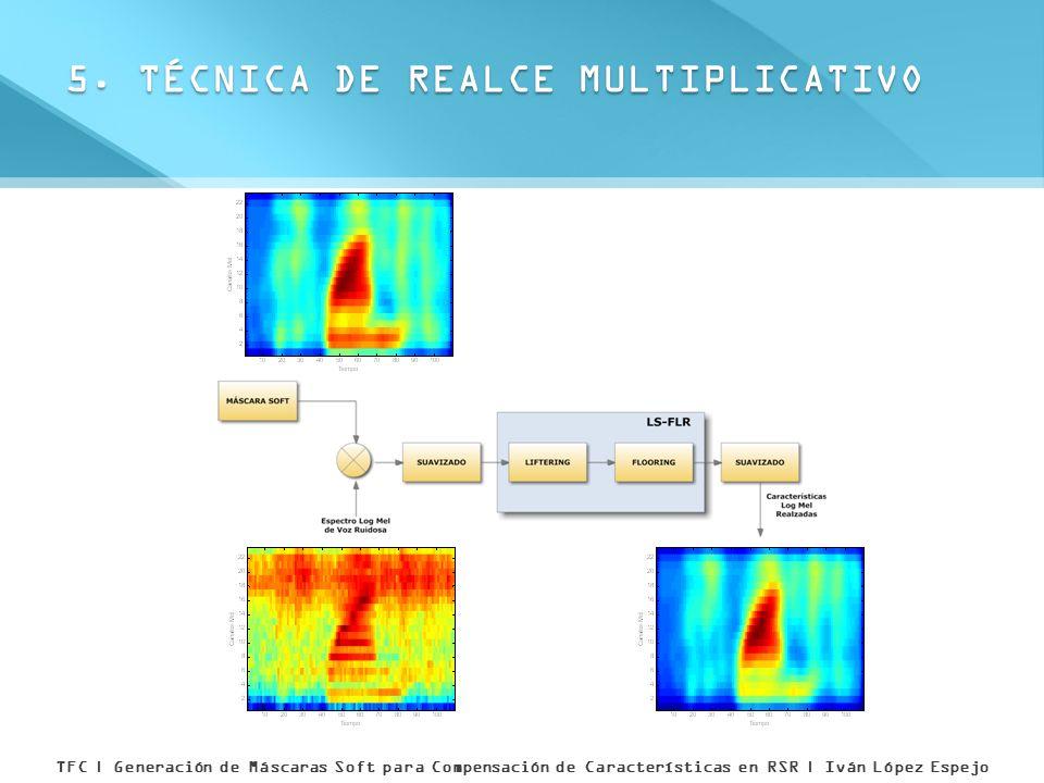 5. TÉCNICA DE REALCE MULTIPLICATIVO TFC | Generación de Máscaras Soft para Compensación de Características en RSR | Iván López Espejo