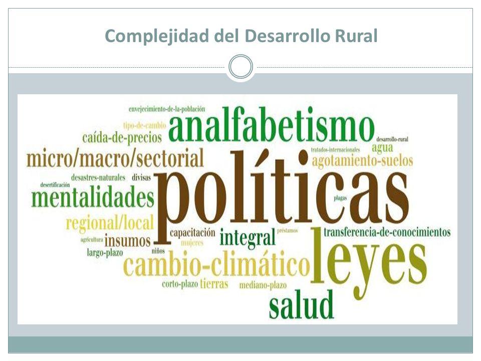 Complejidad del Desarrollo Rural
