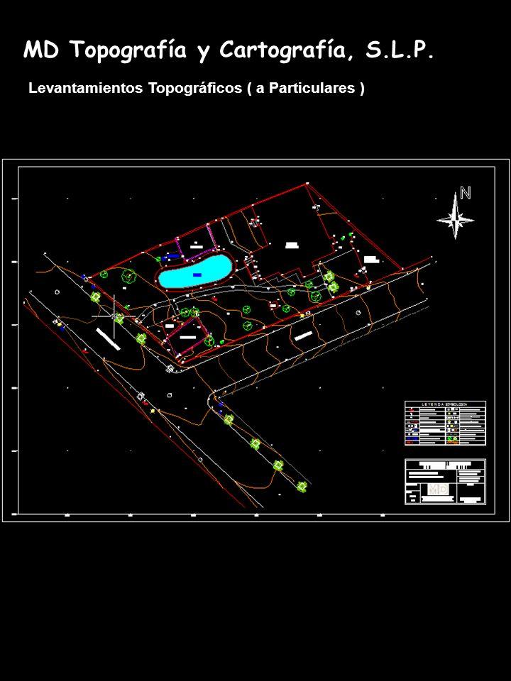 MD Topografía y Cartografía, S.L.P. Levantamientos Topográficos ( a Particulares )