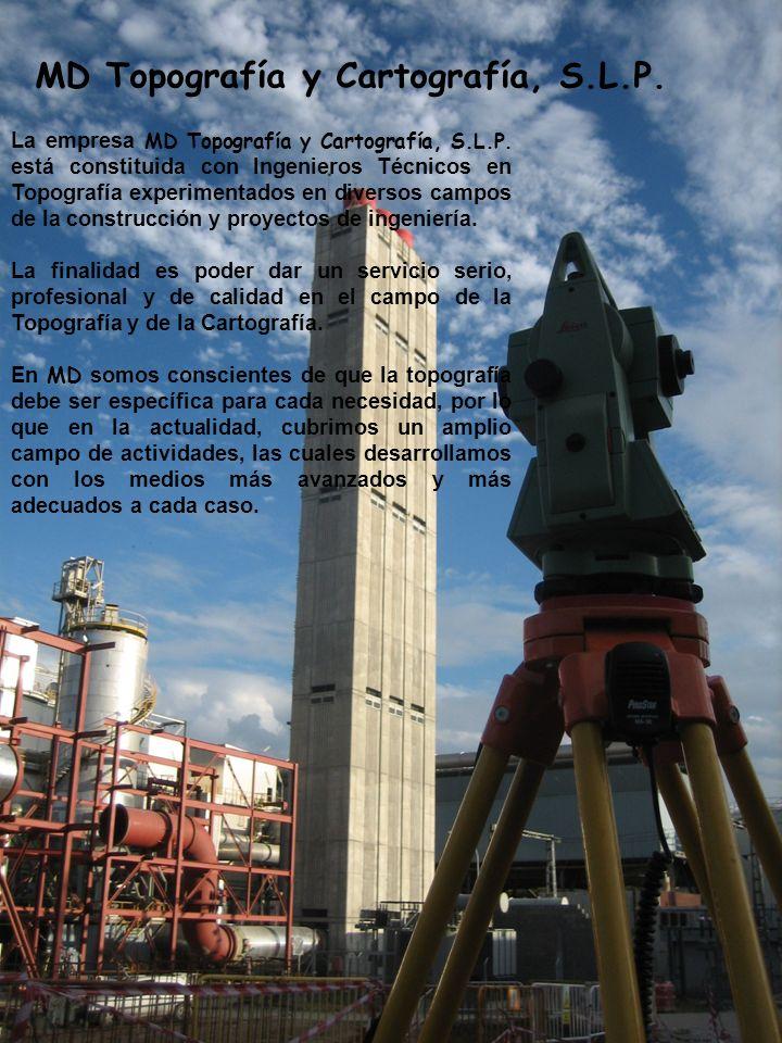 MD Topografía y Cartografía, S.L.P.La empresa MD Topografía y Cartografía, S.L.P.