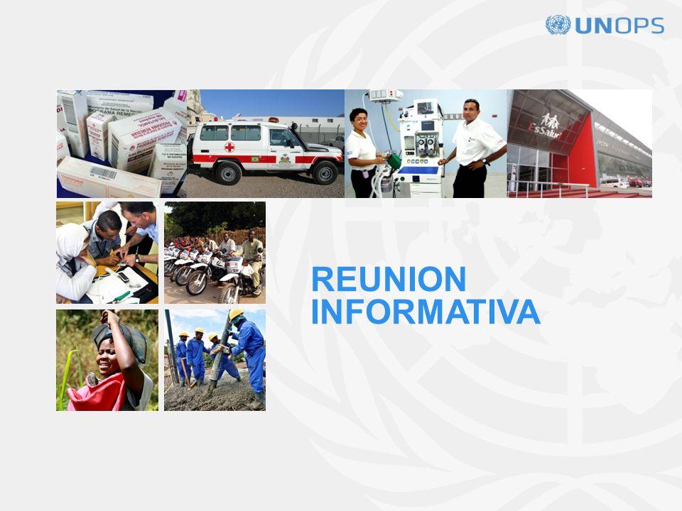 APERTURA DE LOS SOBRES Se realizará un acto de apertura de las ofertas de acuerdo al siguiente detalle: A las 11:00 horas, hora local, del 19 de marzo de 2013, en las oficinas de UNOPS.