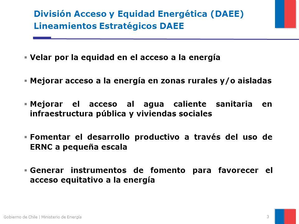 3 Velar por la equidad en el acceso a la energía Mejorar acceso a la energía en zonas rurales y/o aisladas Mejorar el acceso al agua caliente sanitari