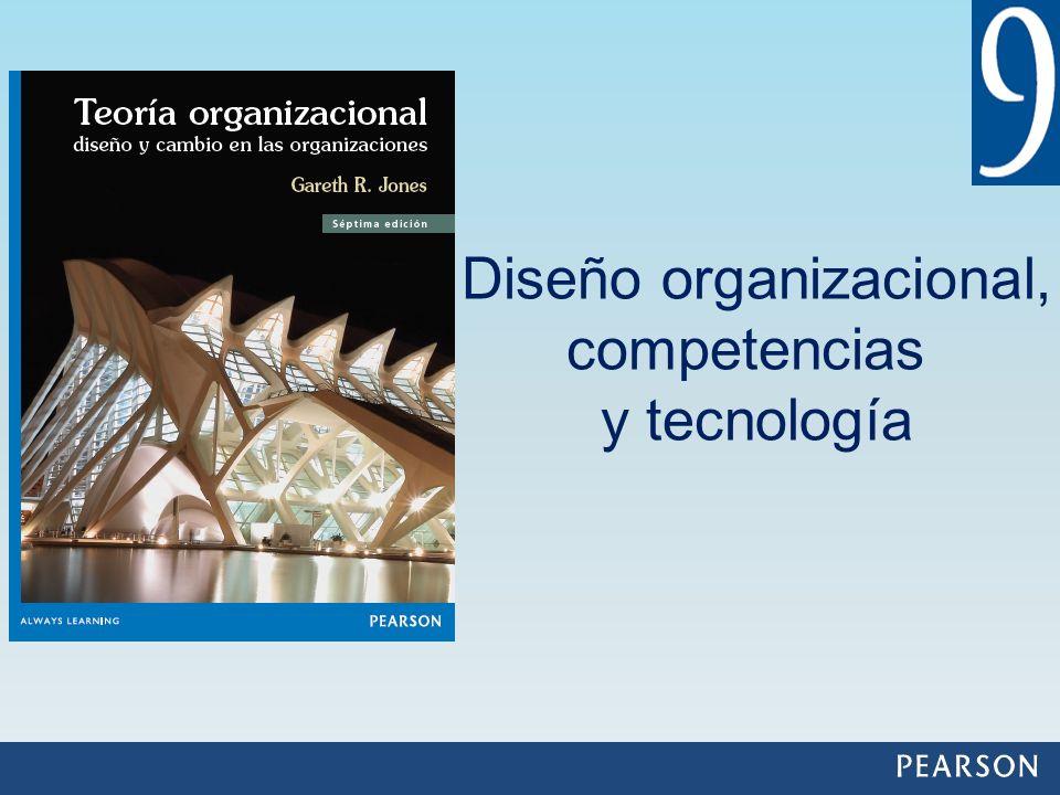 Diseño organizacional, competencias y tecnología