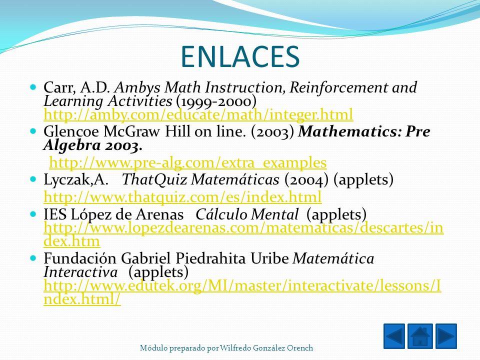 ENLACES Carr, A.D.