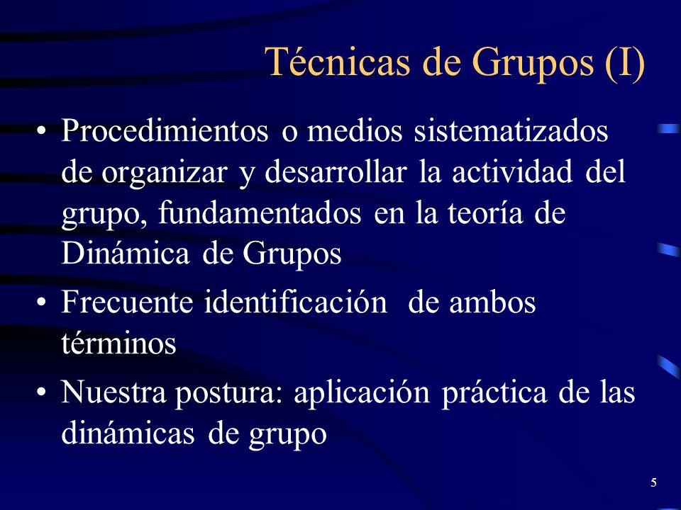 4 Concepto de Dinámica de grupos Pastor Ramos, 1978: –Sector de las ciencias de la conducta humana que trata de desvelar la naturaleza y las leyes que