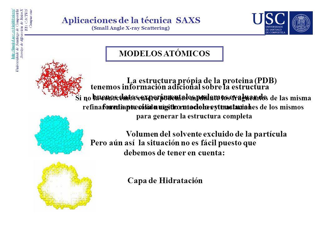MODELOS ATÓMICOS http://imaisd.usc.es/riaidt/raiosx/ Universidade de Santiago de Compostela Servizo de difracción de RaiosX ED. CACTUS Campus sur Apli
