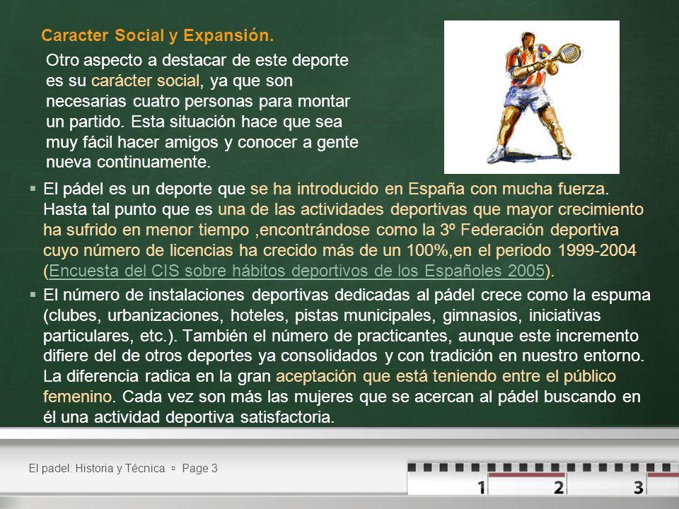 El pádel es un deporte que se ha introducido en España con mucha fuerza. Hasta tal punto que es una de las actividades deportivas que mayor crecimient