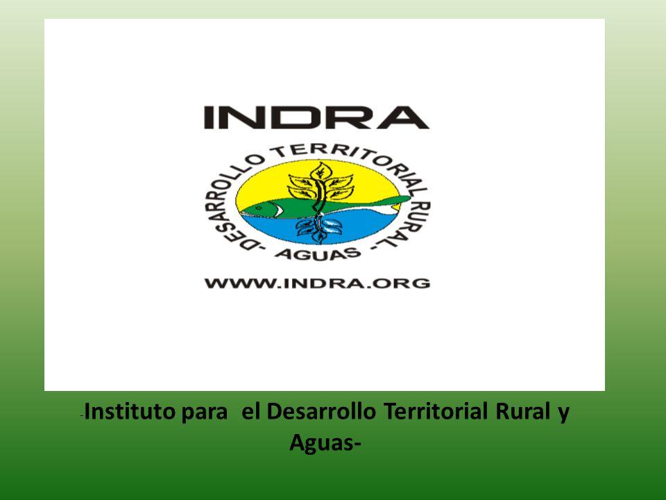 - Instituto para el Desarrollo Territorial Rural y Aguas-