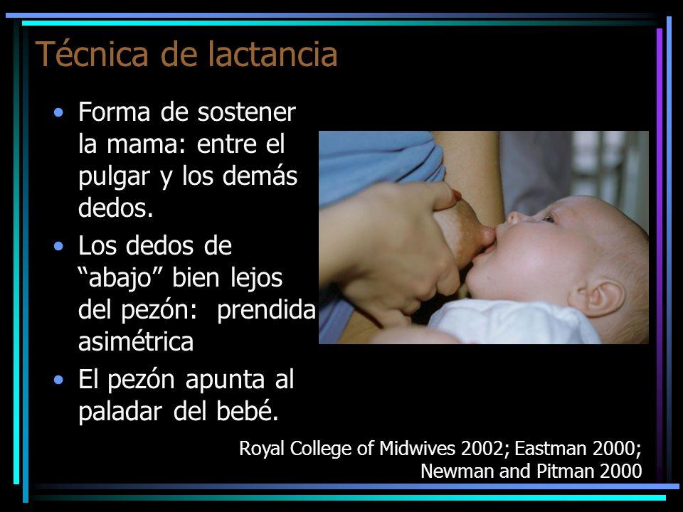 Casos en que es preferible despertar/estimular al niño para mamar: En ese caso ofrecerles el pecho por lo menos 8 veces por día.