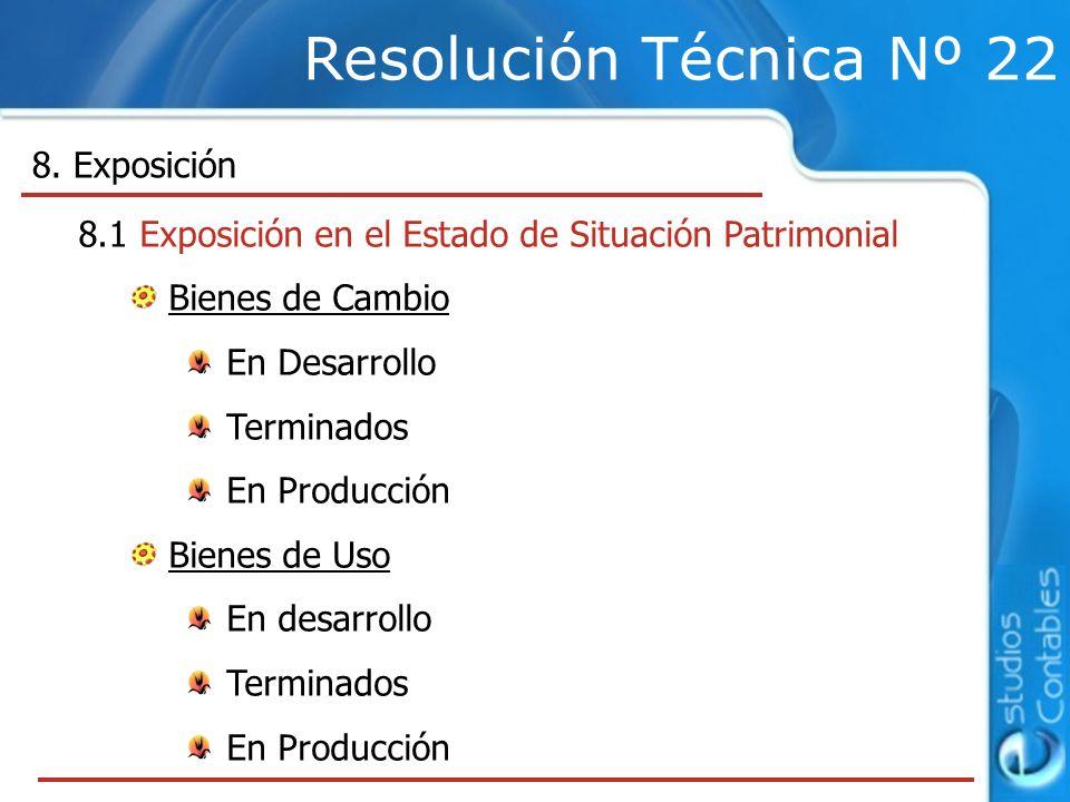 Resolución Técnica Nº 22 8.
