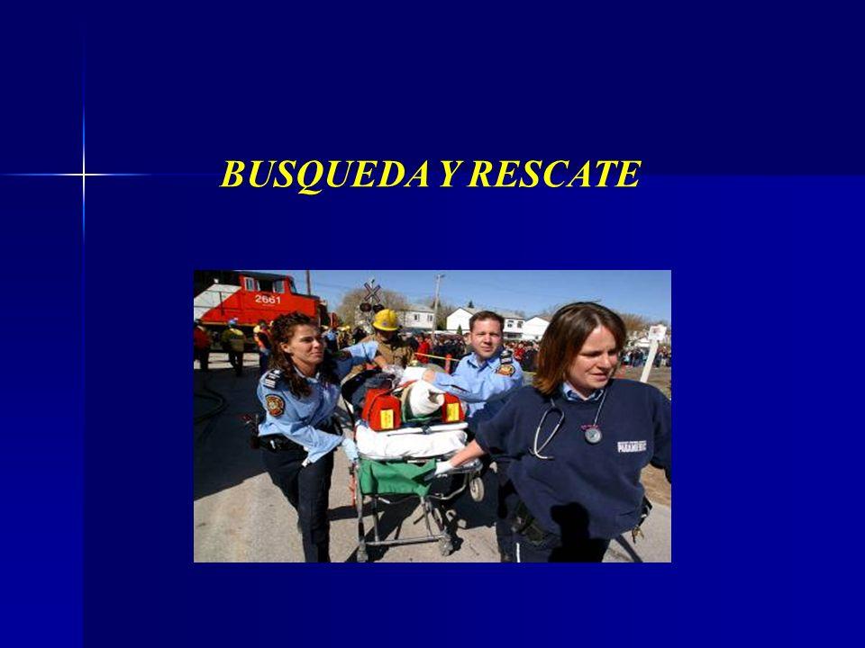 BUSQUEDA Y RESCATE