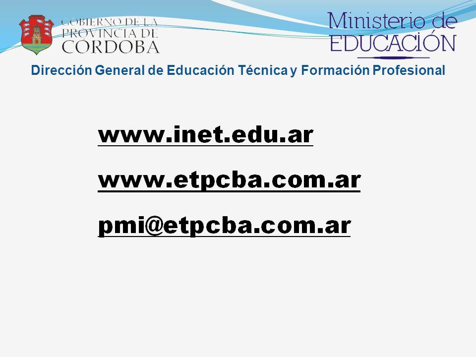 Dirección General de Educación Técnica y Formación Profesional