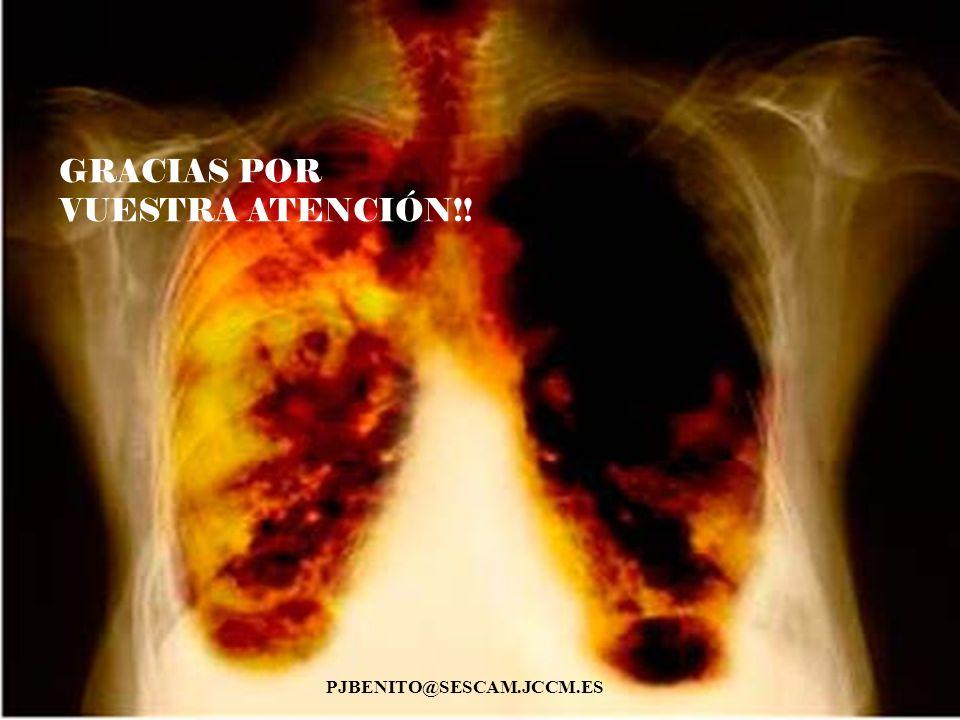 GRACIAS POR VUESTRA ATENCIÓN!! PJBENITO@SESCAM.JCCM.ES