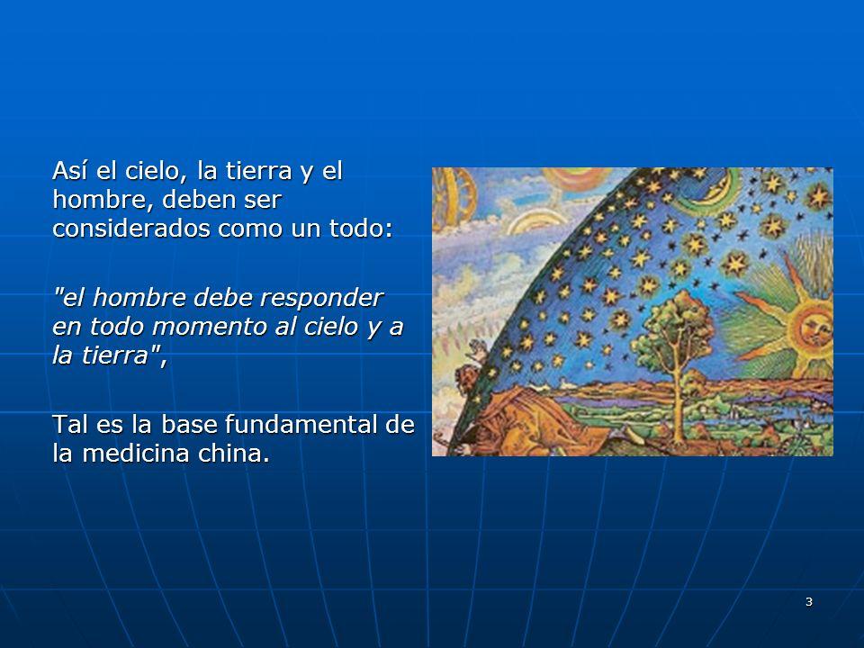 3 Así el cielo, la tierra y el hombre, deben ser considerados como un todo: