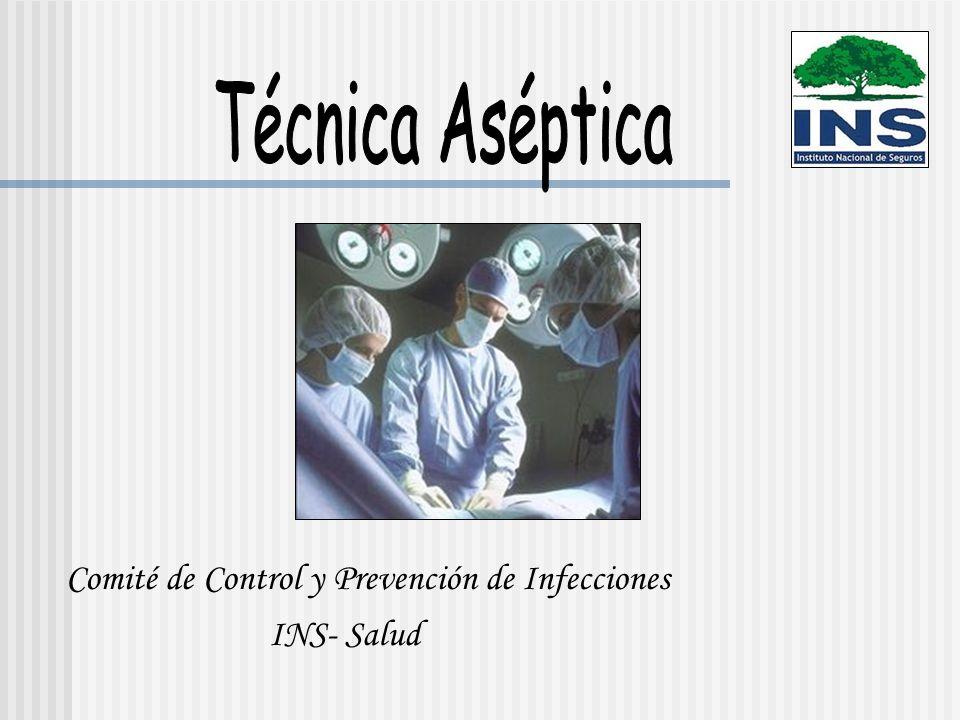 Técnica Aséptica Son las prácticas hospitalarias que reducen la posibilidad de que los microorganismos entren en el cuerpo mediante los procedimientos clínicos, reduciendo así los riesgos de que los usuarios se infecten más tarde.