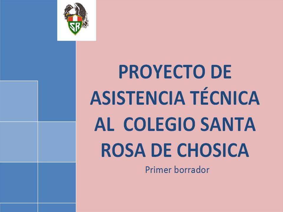 ASOCIACIÓN DE EX ALUMNOS DEL COLEGIO SANTA ROSA DE CHOSICA - Proyecto de asistencia técnica 12 ESTUDIO INTEGRAL DE MERCADO DESARROLLO DE UN PLAN INTEGRAL DE MARKETING DESARROLLO DE UN PLAN ESTRATÉGICO PROGRAMA DE ACCIONES DE RESPONSABILIDAD SOCIAL CORPORATIVA PLAN DE CAMPAÑAS DE DIFUSIÓN Y MARKETING MARKETING E IMAGEN INSTITUCIONAL