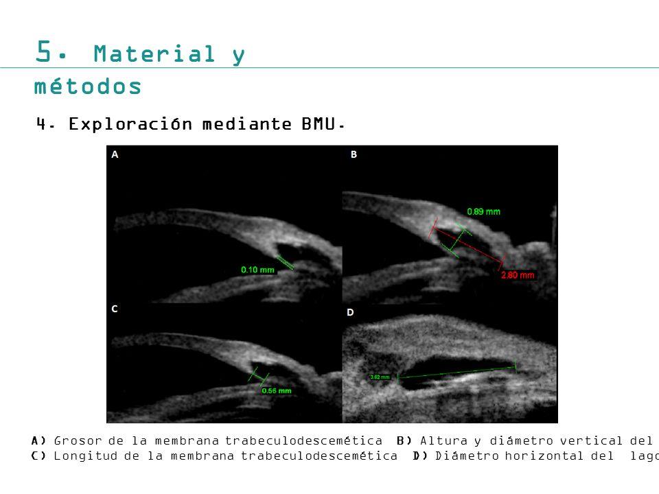 5.Material y métodos 4.Exploración mediante BMU.