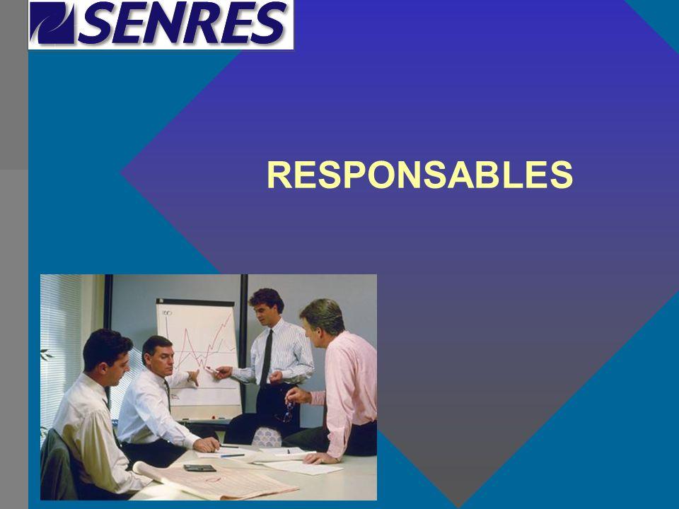 RESPONSABLES