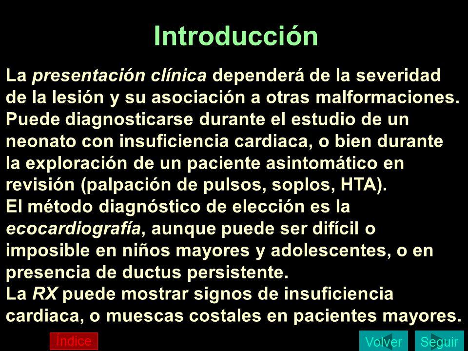 Introducción La presentación clínica dependerá de la severidad de la lesión y su asociación a otras malformaciones. Puede diagnosticarse durante el es