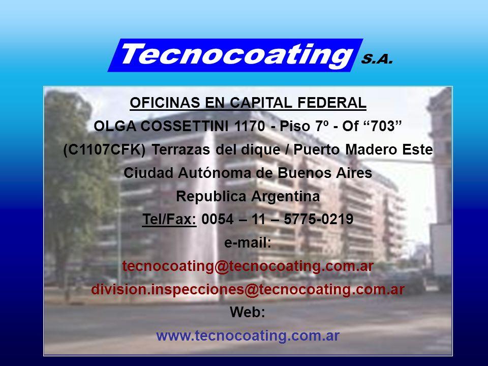 OFICINAS EN CAPITAL FEDERAL OLGA COSSETTINI 1170 - Piso 7º - Of 703 (C1107CFK) Terrazas del dique / Puerto Madero Este Ciudad Autónoma de Buenos Aires