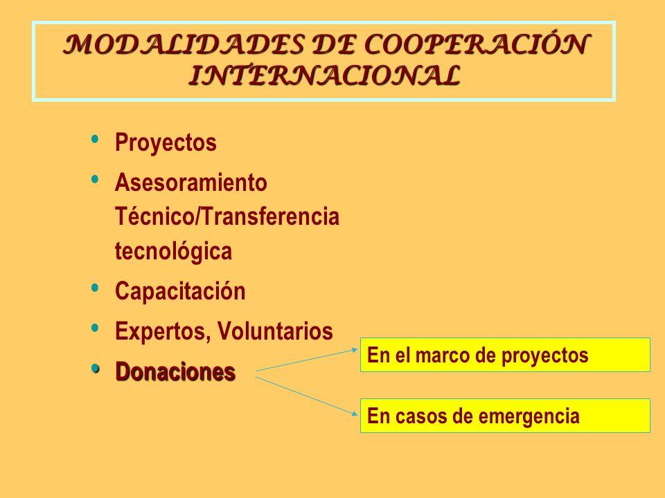 TEMAS PROMOCIONADOS/ PRIORIZADOS POR LA COOPERACIÓN INTERNACIONAL MEDIO AMBIENTE MEDIO AMBIENTE SECTOR PRIVADO/REFORMA SECTOR PRIVADO/REFORMA PARTICIPACIÓN LOCAL PARTICIPACIÓN LOCAL ONGs, ENIEXs ONGs, ENIEXs COOPERACIÓN ENTRE PAÍSES EN DESARROLLO.