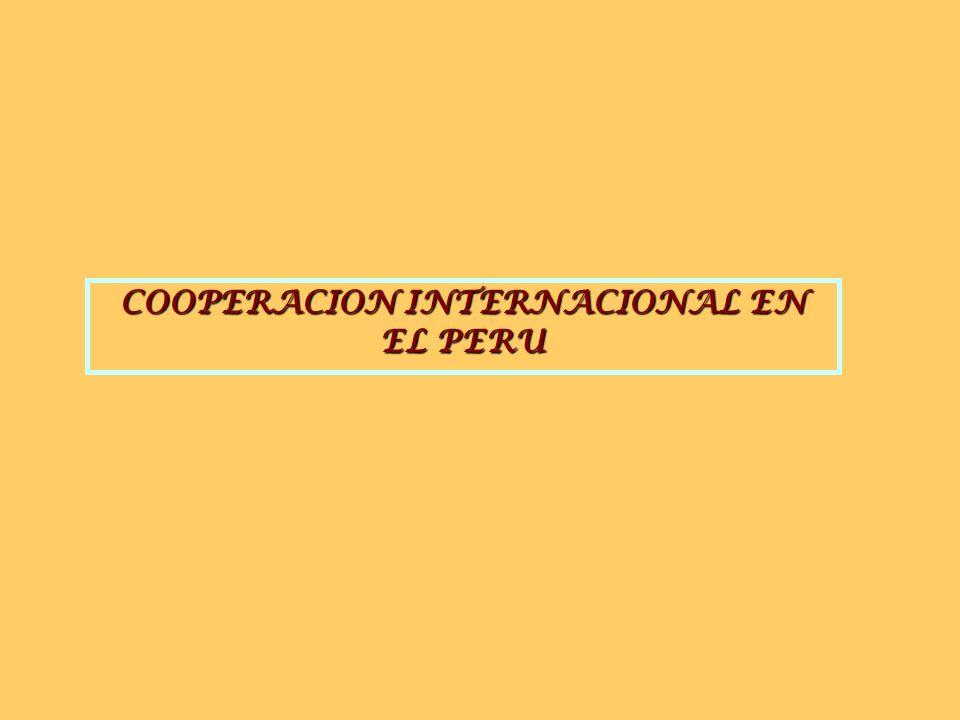 Proyectos Asesoramiento Técnico/Transferencia tecnológica Capacitación Expertos, Voluntarios Donaciones Donaciones MODALIDADES DE COOPERACIÓN INTERNAC