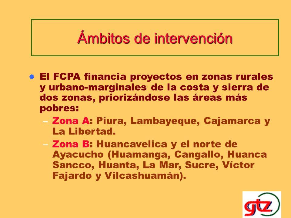Línea de financiamiento 3: Paquetes Estratégicos de Proyectos Finalidad: – Conseguir efectos de sinergia de alto impacto para el desarrollo local.