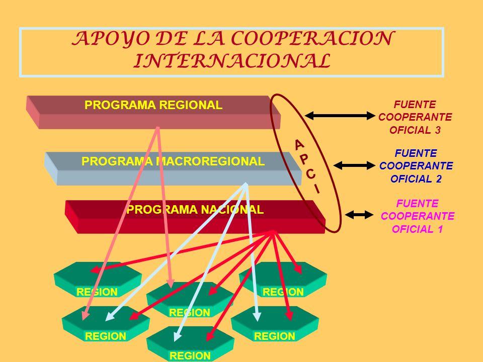 SISTEMA DE LA COOPERACIÓN INTERNACIONAL Y DE LA INVERSIÓN PÚBLICA (Ejem. SALUD) SECTOR (Órgano Resolutivo ) Ofc. Sectoriales de Inversión GobiernoNaci