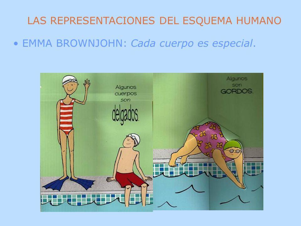 LAS REPRESENTACIONES DEL ESQUEMA HUMANO EMMA BROWNJOHN: Cada cuerpo es especial.