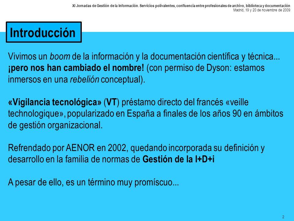 2 XI Jornadas de Gestión de la Información.