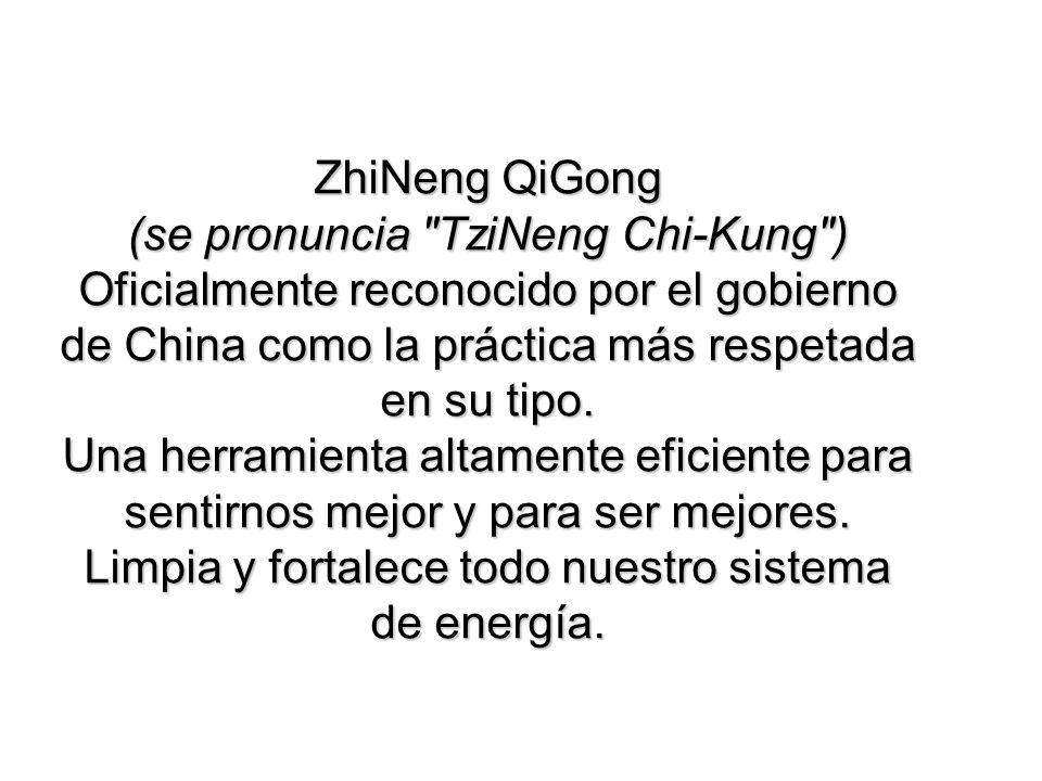 ZhiNeng QiGong (se pronuncia