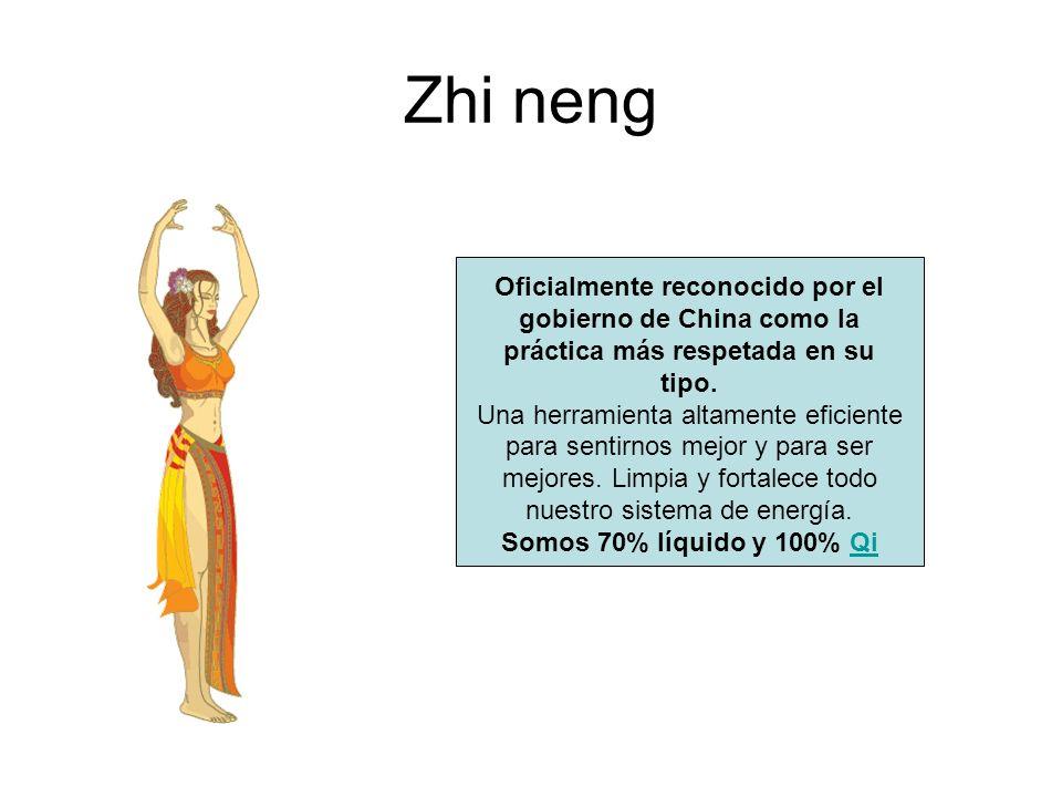 Zhi neng Oficialmente reconocido por el gobierno de China como la práctica más respetada en su tipo. Una herramienta altamente eficiente para sentirno