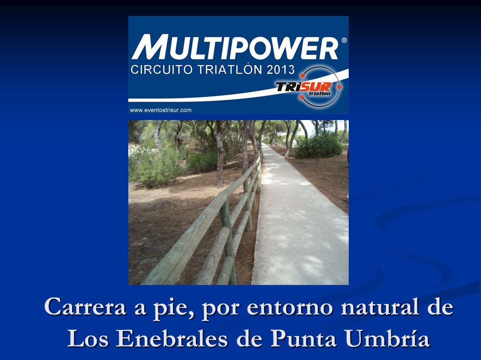 Carrera a pie, por entorno natural de Los Enebrales de Punta Umbría