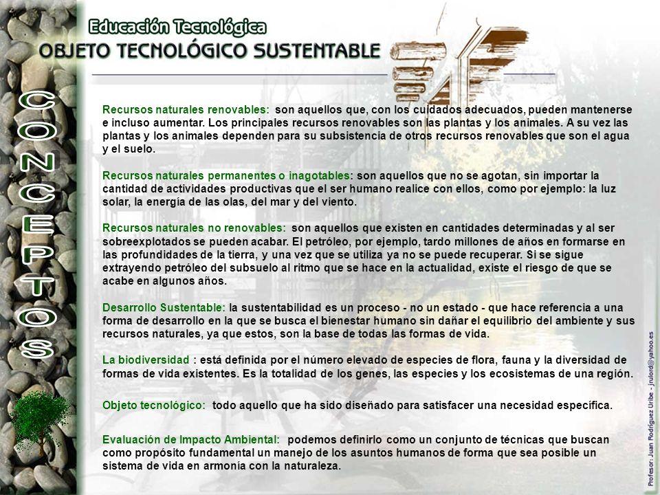 Recursos naturales renovables: son aquellos que, con los cuidados adecuados, pueden mantenerse e incluso aumentar. Los principales recursos renovables