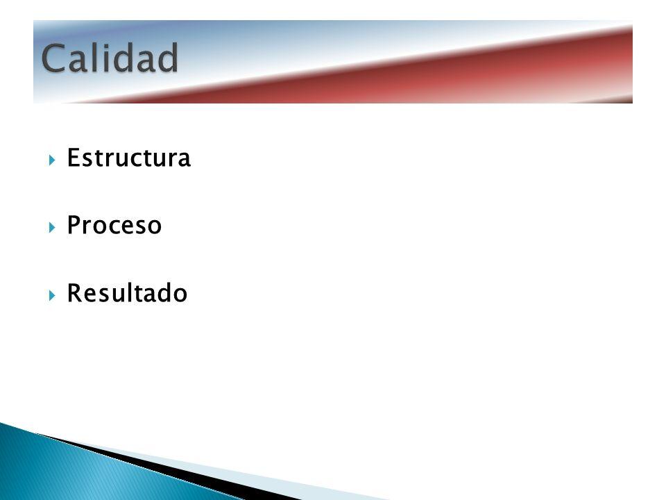 Estructura Proceso Resultado