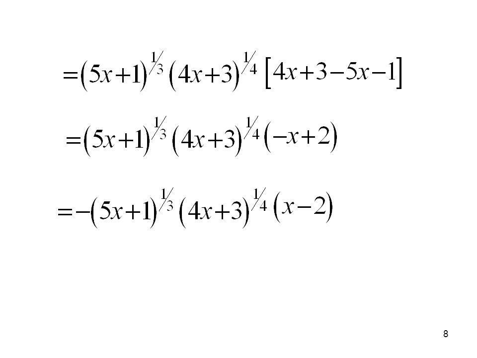 18 Generalmente esta técnica se aplica cuando el polinomio tiene cuatro términos o más.
