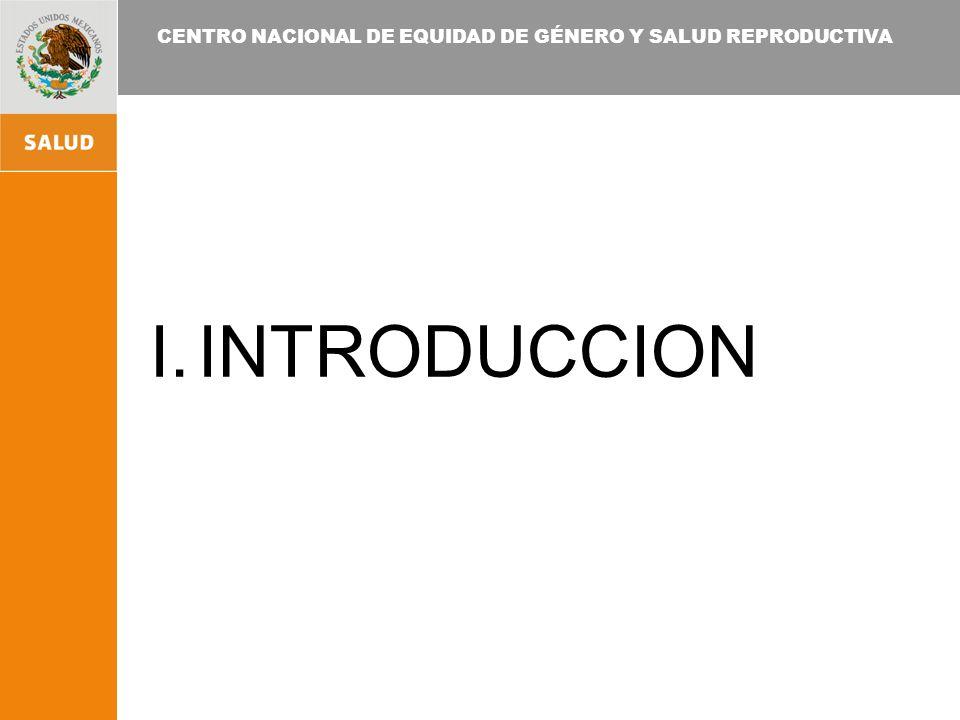 CENTRO NACIONAL DE EQUIDAD DE GÉNERO Y SALUD REPRODUCTIVA ESTRUCTURA PROGRAMÁTICA ORGANIGRAMA CENTRO NACIONAL DE EQUIDAD DE GENERO Y SALUD REPRODUCTIVA CENTRO NACIONAL DE EQUIDAD DE GENERO Y SALUD REPRODUCTIVA