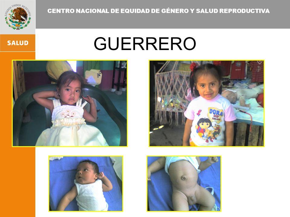 CENTRO NACIONAL DE EQUIDAD DE GÉNERO Y SALUD REPRODUCTIVA GUERRERO