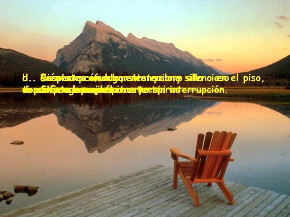 a..Encuentra un lugar tranquilo y silencioso donde puedas concentrarte sin interrupción.