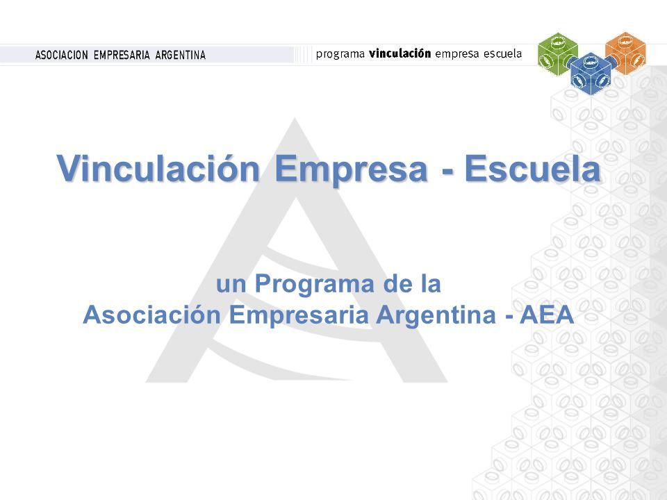 Vinculación Empresa - Escuela un Programa de la Asociación Empresaria Argentina - AEA